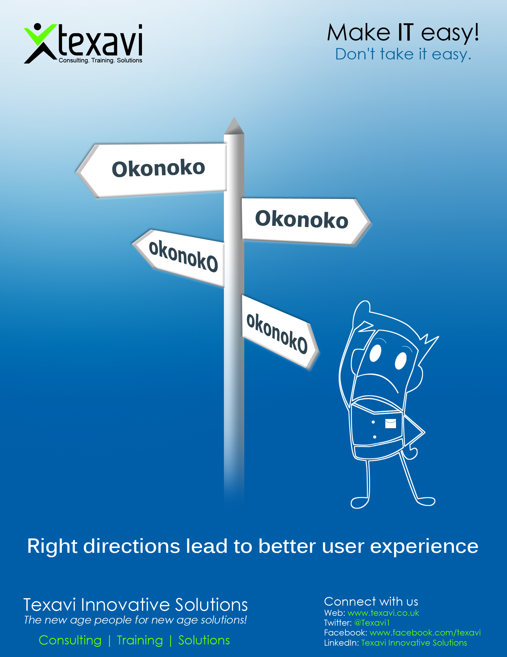 Right navigation leads to better user experience!