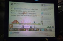 SMWF Twitter Wall