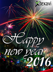 Texavi wishes you a Happy New Year 2016