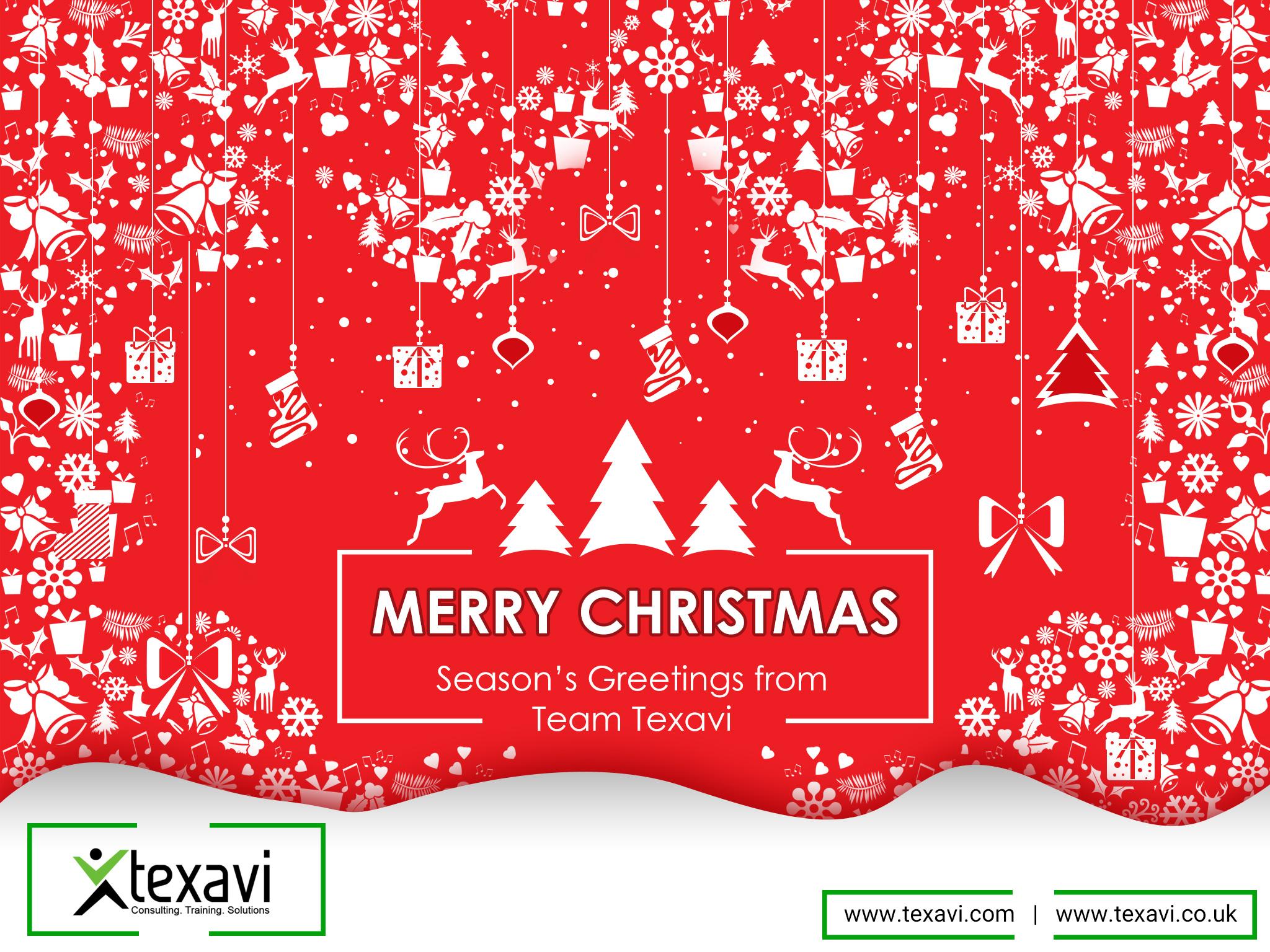 Texavi wishes you a Merry Christmas 2017