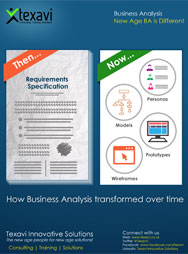 How Business Analysis transformed over time